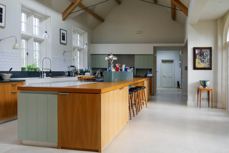Boxford kitchen providing a large family space.