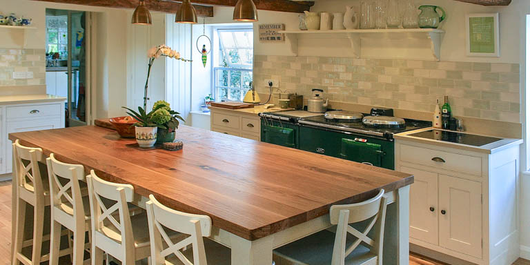 A traditional Shaker Style kitchen in Great Somerford, Wiltshire